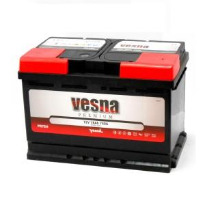 Аккумулятор VESNA PREMIUM 78 Ач (TAB) обр.