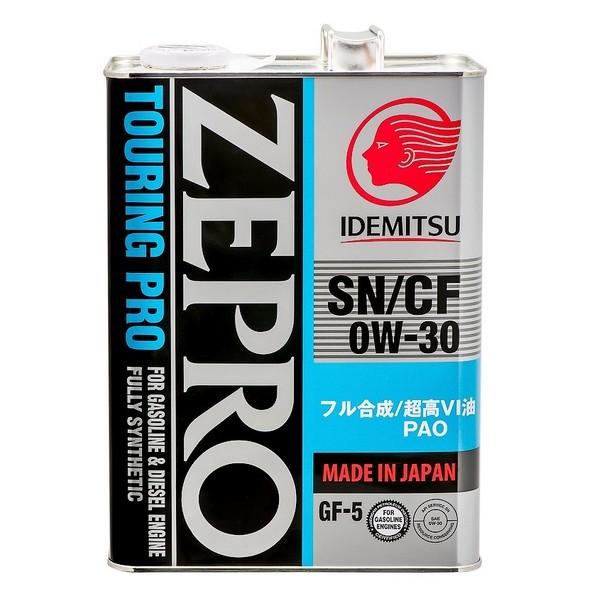 Idemitsu Zepro Touring Pro 0w30 4л