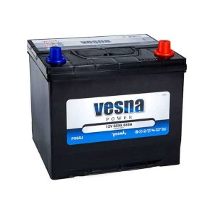 Аккумулятор VESNA POWER 65 Ач обр.