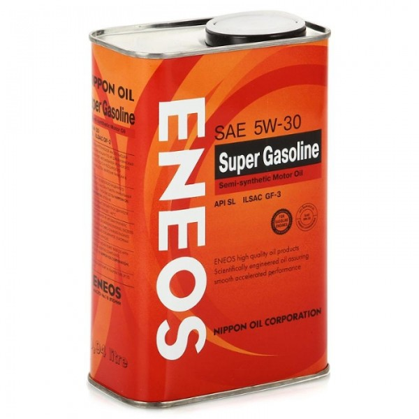 Eneos Super Gasoline SL 5W-30 Semi-synthetic 1л