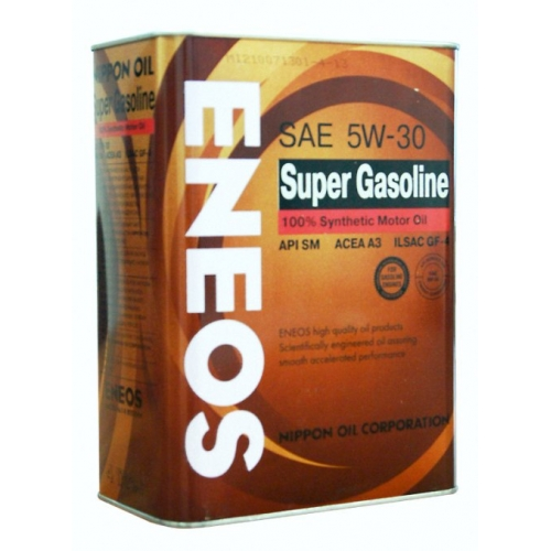 Eneos Super Gasoline 100% Synthetic 5W-30 4л