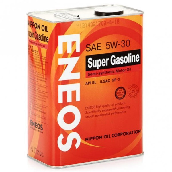 Eneos Super Gasoline SL 5W-30 Semi-synthetic 4л