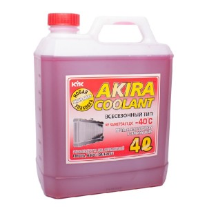 Akira -40 красный, 4л