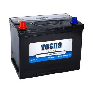 Аккумулятор VESNA POWER 75 Ач пр.