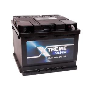 Аккумулятор XTREME Silver 60 Ah обр.