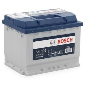Аккумулятор Bosch S4 Silver 60 Ah [0 092 S40 050] обр.