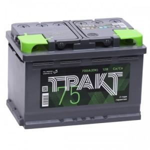 Аккумулятор ТРАКТ 75 AH прям.