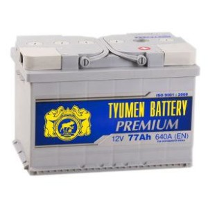 Аккумулятор Тюмень Premium 77 Ач обр.