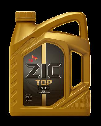 ZIC TOP 0w40 4л