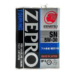 Idemitsu Zepro 5w30 4л