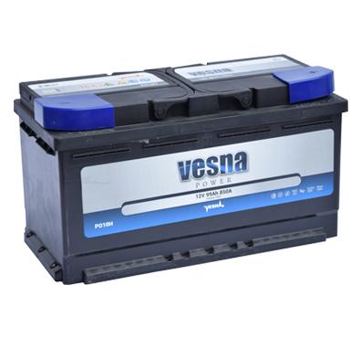 Аккумулятор VESNA POWER 99 Ач (TAB) обр.
