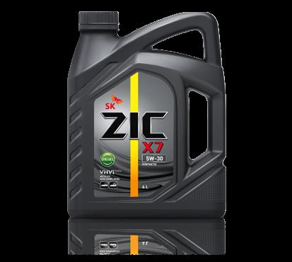 ZIC X7 Diesel 5W30 4л