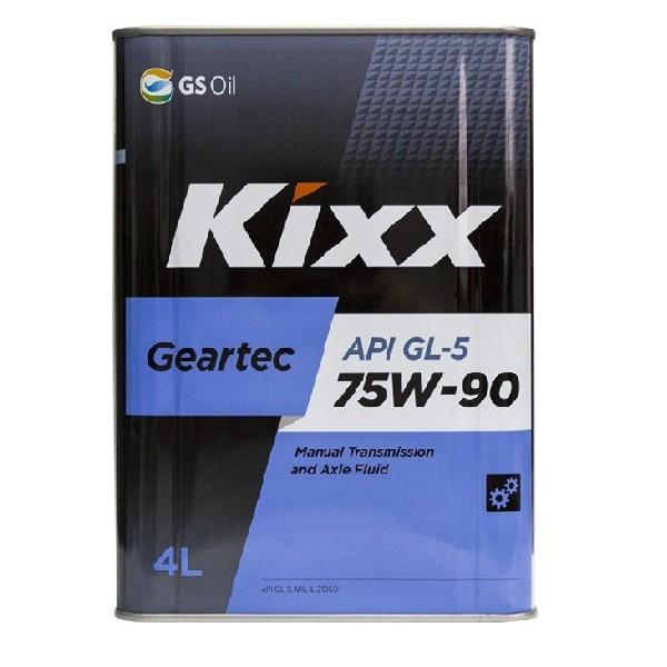 Kixx Geartec 75w90 GL-5 4л