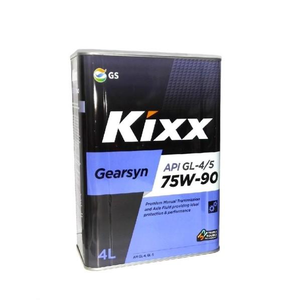 Kixx GearSyn 75w90 GL-4/5 4л