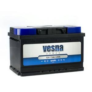 Аккумулятор VESNA POWER 73 Ач (TAB) обр.