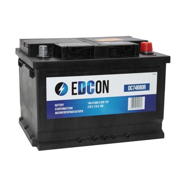 Аккумулятор EDCON 74 AH обр.