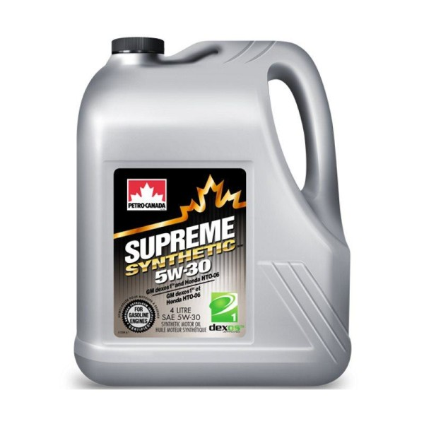 PETRO-CANADA SUPREME SYNTHETIC 5W-30 5л