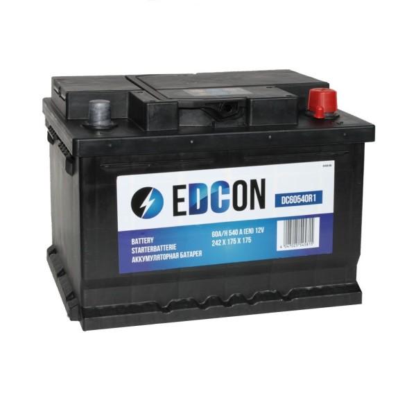 Аккумулятор EDCON 60 AH обр.