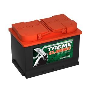 Аккумулятор XTREME CLASSIC 75 AH ОБР.