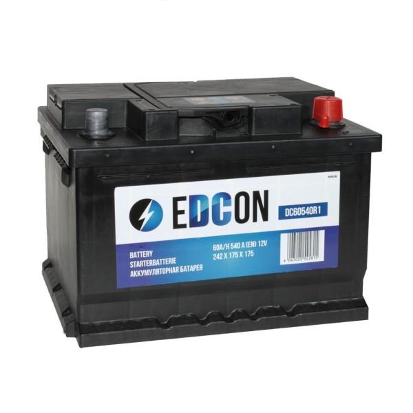 Аккумулятор EDCON 60 AH низкий обр.
