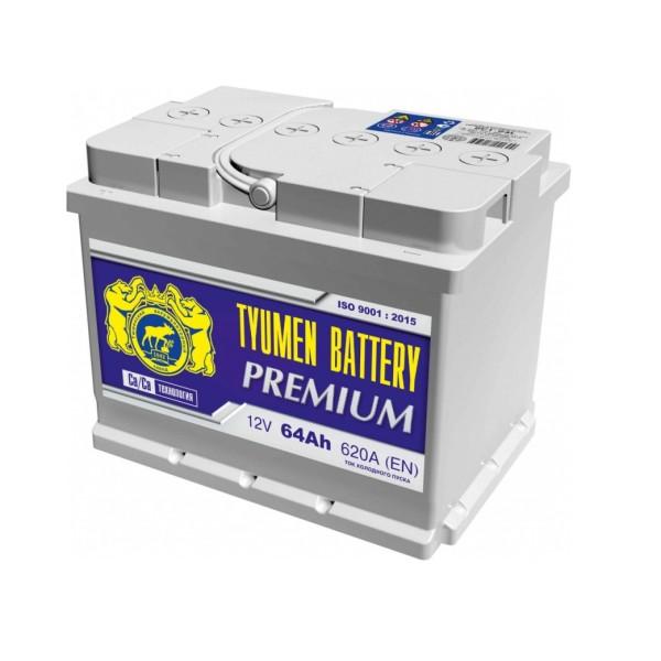 Аккумулятор Тюмень Premium 64 Ач пр.