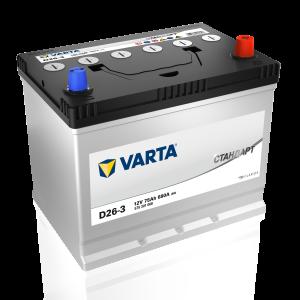 Аккумулятор Varta Стандарт Asia 75 Ач (575301068) обр.