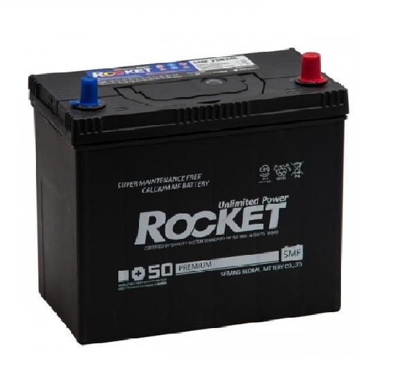 Аккумулятор ROCKET SMF 55 AH 75B24L ОБР.
