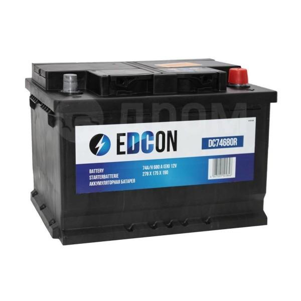 Аккумулятор EDCON AGM 70 AH обр.