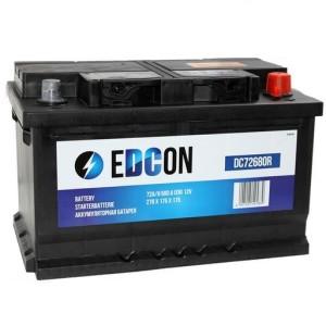 Аккумулятор EDCON 72 AH (DC7268) обр.