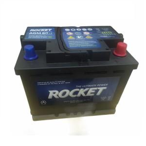 Аккумулятор Rocket AGM 60 AH обр.