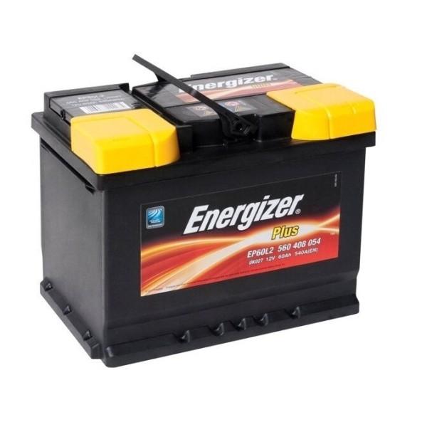 Аккумулятор Energizer Plus 60 Ач (560 127 054) пр.