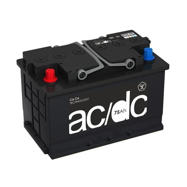 Аккумулятор AC/DC 75 Ah пр.