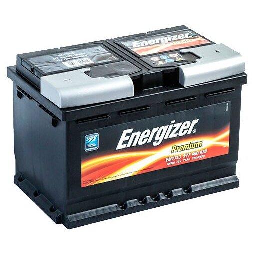Аккумулятор Energizer Premium 77 Ah обр.