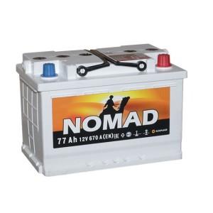 Аккумулятор NOMAD 77 Ач обр.