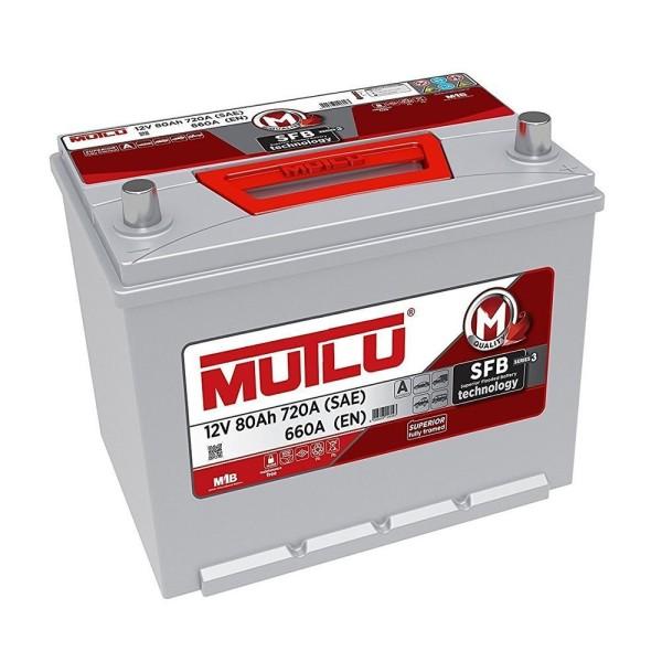 Аккумулятор MUTLU sfb 80 Ач  обр.